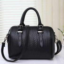 Ericdress Trendy Knitted Print Pillow Handbag