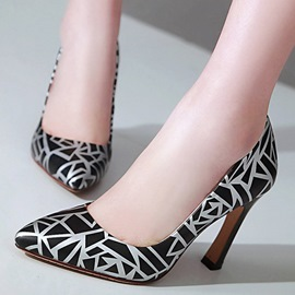 Ericdress Modern Geometric Point Toe Pumps