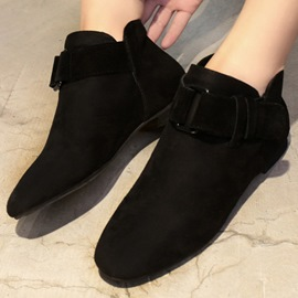 Ericdress Simple Flat Ankle Boots