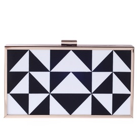 Ericdress Geometric Pattern Acrylic Evening Clutch