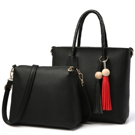 Ericdress Temperament Tassel Decorated Handbags(2 Bags)