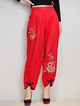 Ericdress Chinese Ethnic Pants
