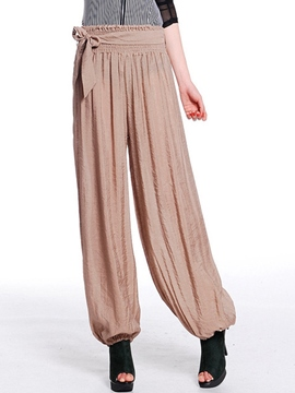 Ericdress Chinese Style Pleated Pants