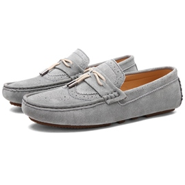 Ericdress Cut Out Bowtie Men's Moccasin Gommino