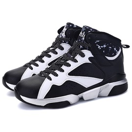 Ericdress Trendy Color Block Lace-Up Round Toe Men's Sneakers