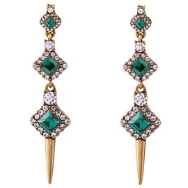Ericdress Personality Bullet Design Earrings