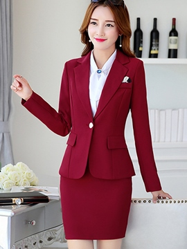 Ericdress Elegant Three-Piece Formal Suit