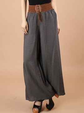 Ericdress Chinese Ethnic Pastoral Wide Legs Pants