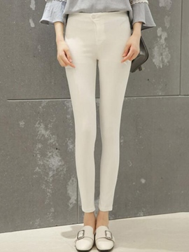 Ericdress Skinny Nine Points Leggings Pants