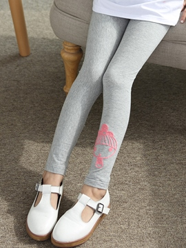 Ericdress Cartoon Embroidery Girl's Leggings