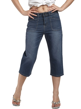 Ericdress Loose Seven Points Jeans