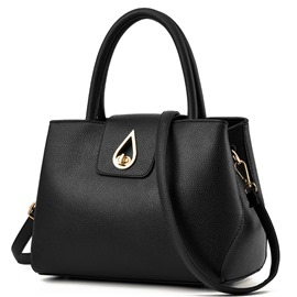 Ericdress Trendy Water Drop Lock Handbag