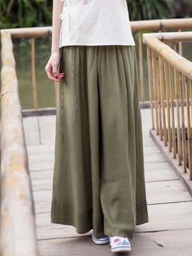 Ericdress Chinese Pastoral Culottes