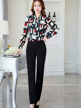 Ericdress Elegant Blouse Formal Suit