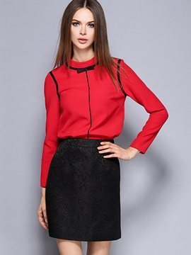Ericdress Ladylike Blouse Suit
