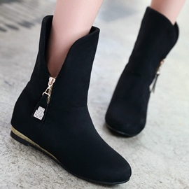 Ericdress Sweet Side Zip Ankle Boots