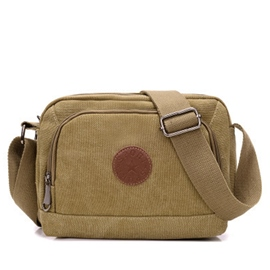 Ericdress Simple Canvas Shoulder Bag