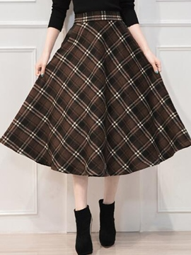 Ericdress Vintage Usual Skirt