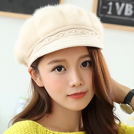 Ericdress Fashion Warm Fur Beret Hat