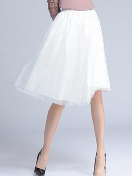 Ericdress Sweet Bubble Skirt