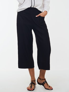 Ericdress Simple Nine Points Loose Pants