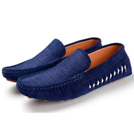 Ericdress Suede Croco Men's Loafers