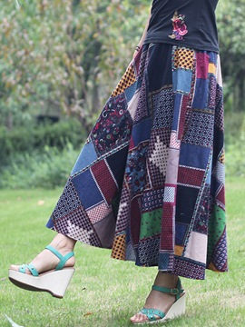 Ericdress Chinese Ethnic Skirt