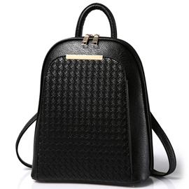 Ericdress Exquisite Weaved Travel Backpack