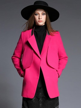 Ericdress European Rose Elegant Coat