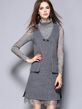 Ericdress Ladylike Dress Two-Piece Suit