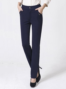 Ericdress Fashion Straight Casual Pants