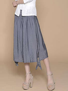 Ericdress Chinese Pastoral Seven Points Pants