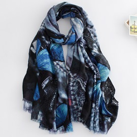 Ericdress Butterfly Printing Scarf
