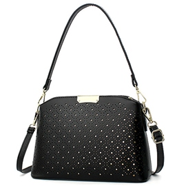 Ericdress Elegant Hollow Polka Dot Shoulder Bag