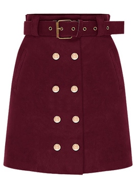Ericdress Unique Military Style Usual Skirt