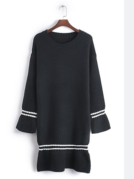 Ericdress Autumn Long Sleeve Loose Sweater Dress