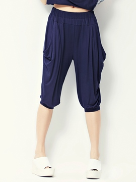 Ericdress Seven Points Harem Pants