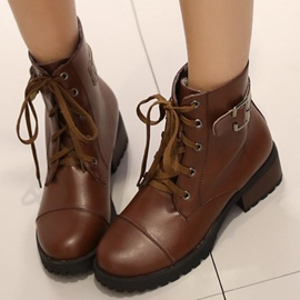 Ericdress Cool Lace up Martin Boots