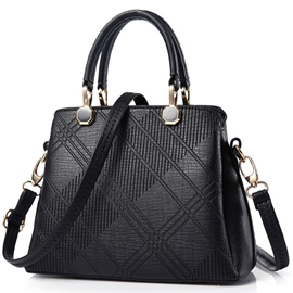 Ericdress Stereotype Irregular Quilted Embossed Handbag