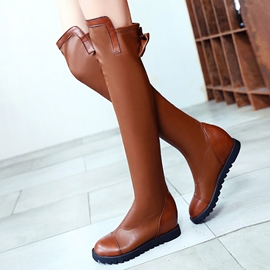 Ericdress Sweet Bowknot Flat Knee High Boots
