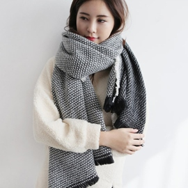 Ericdress Small Geometric Imitation Cashmere Scarf