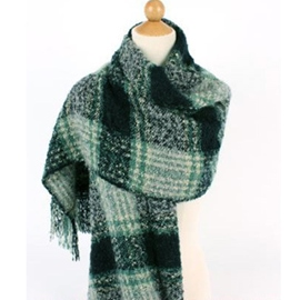 Ericdress All Matched Thick Green Scarf