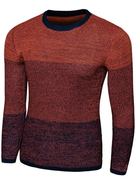 Ericdress Quality Color Block Slim Men's Knitwear