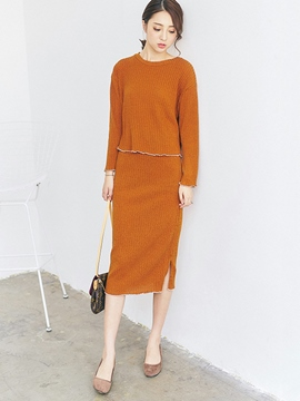 Ericdress Simple Loose Leisure Suit