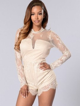 Ericdress Sweet Long Sleeve Rompers