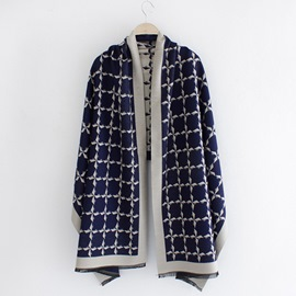 Ericdress Windmill Grid Design Scarf/Shawl