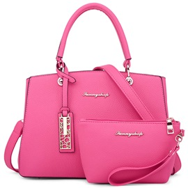 Ericdress Versatile Solid Color Handbags(2 Bags)