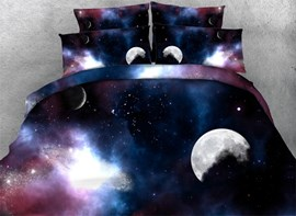 Ericdress Magnificent Starry Sky Print 3D Bedding Sets
