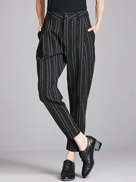 Ericdress Fashion Stripe Harem Pants