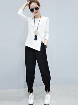 Ericdress Casual Harem Pants Suit